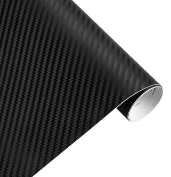Autofolie carbon schwarz
