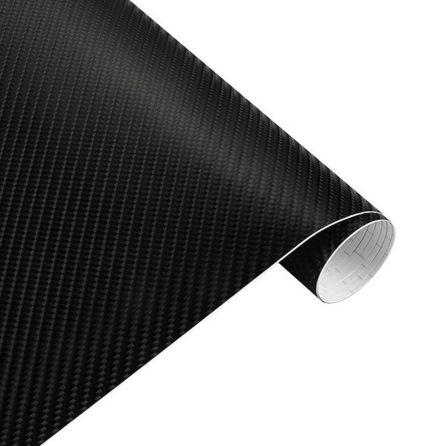 4D Carbonfolie schwarz, Style-Your-Car