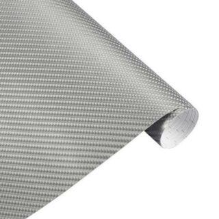 autofolie carbon silber