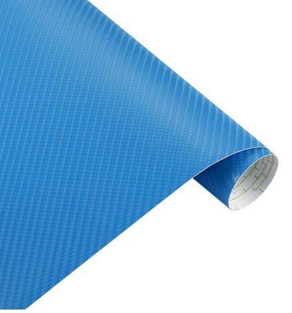 4D Carbon blau car wrap Folie