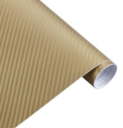 3D Carbonfolie gold, Style-Your-Car