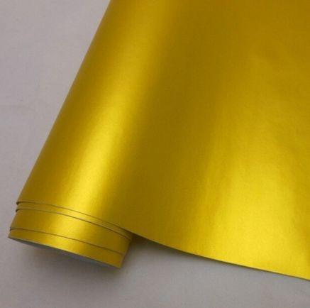 chrom matt Folie gold, Style-Your-Car