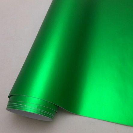 chrom matt Folie grün, Style-Your-Car